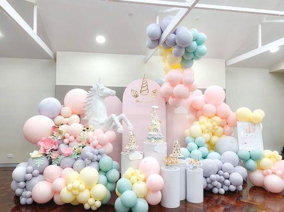 trang tri sinh nhat 12 - Trang trí sinh nhật cho bé gai