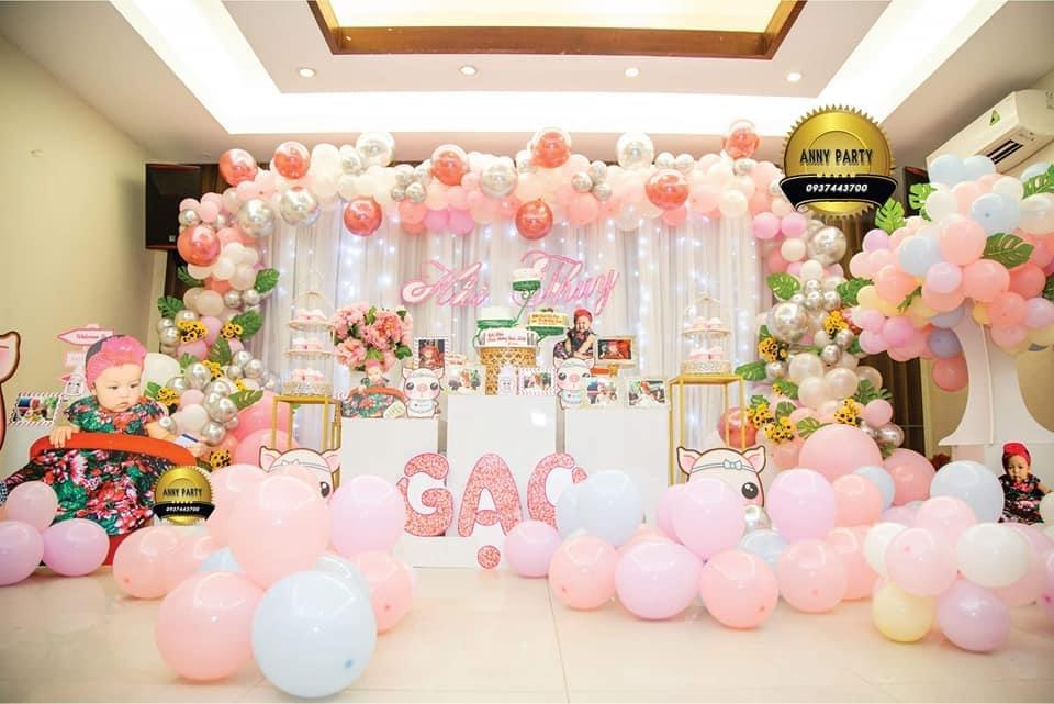 hình ảnh Trang Trí tiệc Sinh Nhật Bé Gái TpHCM