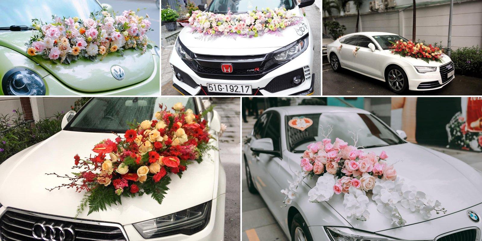 trang trí xe hoa cưới